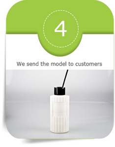 We send the model to customers